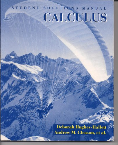 Calculus, Derive Supplement Solutions Manual  1994 (Student Manual, Study Guide, etc.) 9780471585305 Front Cover