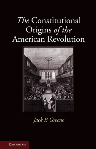 Constitutional Origins of the American Revolution   2010 edition cover