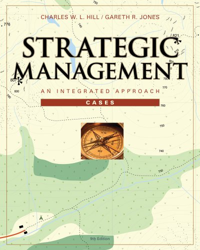 Cases in Strategic Management An Integrated Approach 9th 2010 9780538752305 Front Cover
