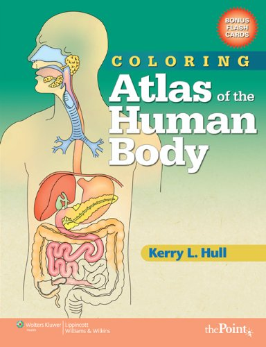 Coloring Atlas of the Human Body   2010 edition cover