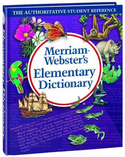 Merriam-Webster's Elementary Dictionary  2nd 2000 (Revised) 9780877796305 Front Cover