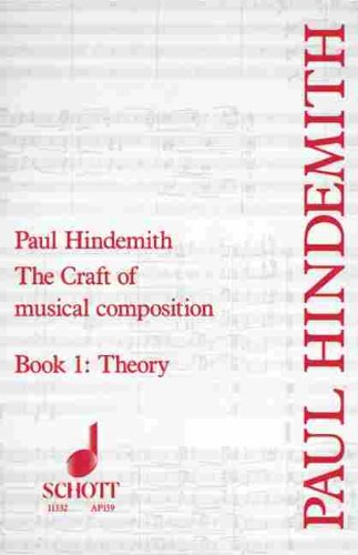 Craft of Musical Composition Theoretical Part 4th 1970 edition cover