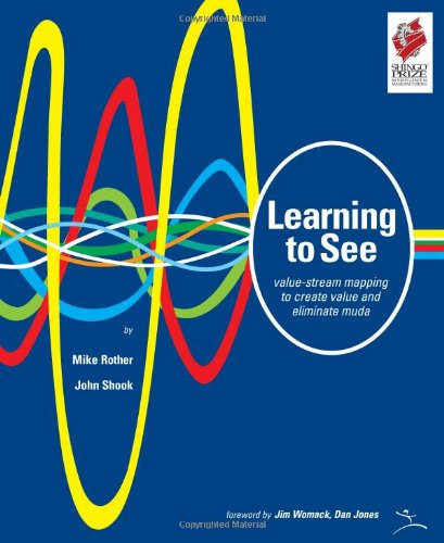 Learning to See Value-stream mapping to create value and eliminate Muda  1999 edition cover