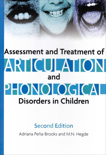 Assessment and Treatment of Articulation and Phonological Disorders in Children  2nd 2007 edition cover