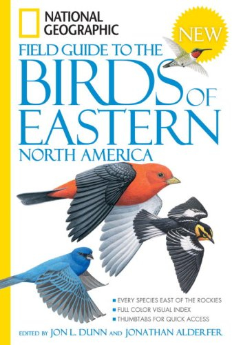 National Geographic Field Guide to the Birds of Eastern North America   2008 edition cover