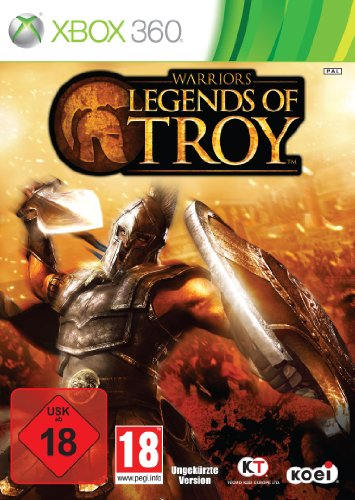 Warriors: Legends of Troy Xbox 360 artwork