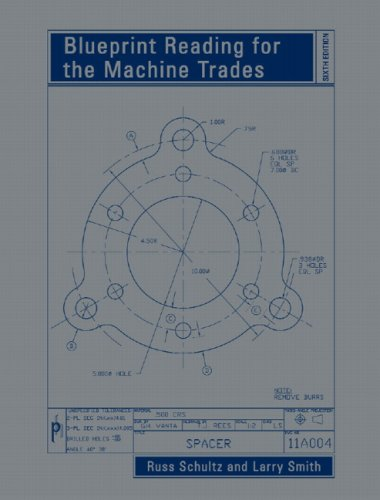 Blueprint Reading for the Machine Trades  6th 2008 9780132388306 Front Cover