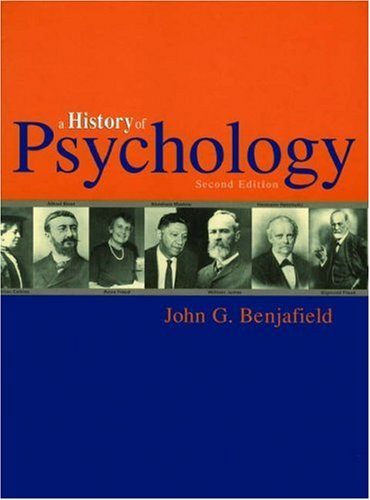 History of Psychology  2nd 2005 (Revised) edition cover