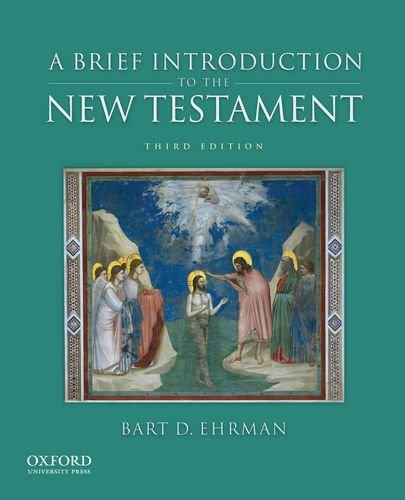 Brief Introduction to the New Testament  3rd 2012 edition cover