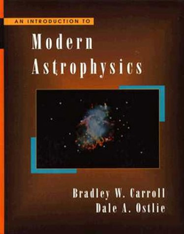 Introduction to Modern Astrophysics   1996 edition cover