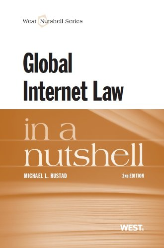 Global Internet Law  2nd 2013 (Revised) edition cover