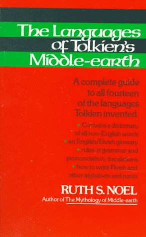 Languages of Tolkien's Middle-Earth   1980 edition cover