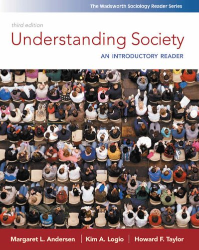 Understanding Society An Introductory Reader 3rd 2009 (Revised) edition cover
