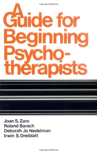Guide for Beginning Psychotherapists   1977 edition cover