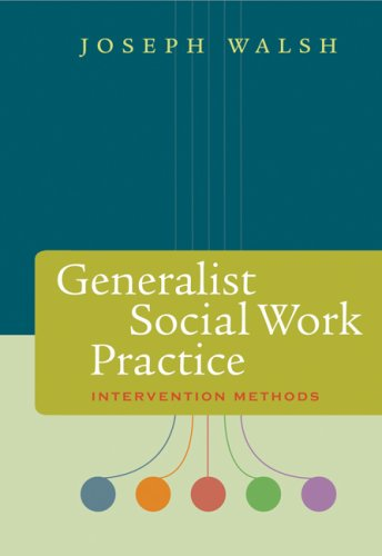 Generalist Social Work Practice Intervention Methods  2009 edition cover