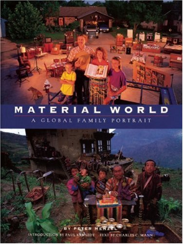 Material World A Global Family Portrait N/A edition cover