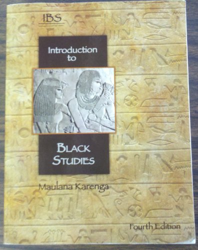 Intro. to Black Studies  N/A 9780943412306 Front Cover