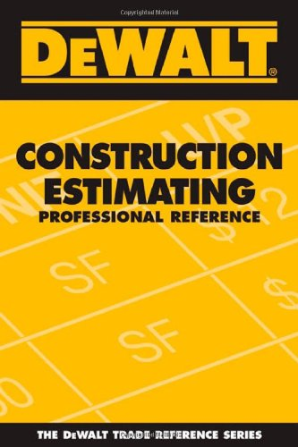 Construction Estimating Professional Reference   2007 edition cover