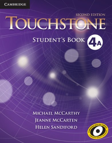 Touchstone Level 4 Student's Book A  2nd 2013 (Revised) edition cover