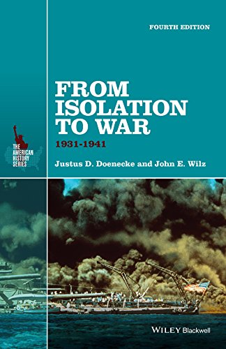 From Isolation to War: 1931-1941  2015 9781118952306 Front Cover