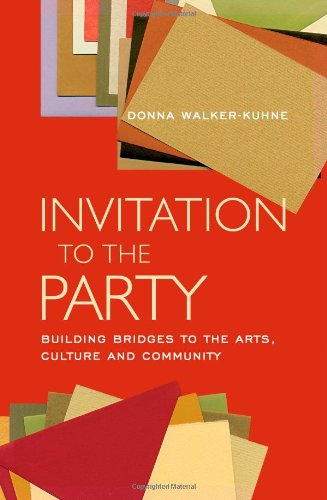 Invitation to the Party Building Bridges to the Arts, Culture and Community  2003 edition cover