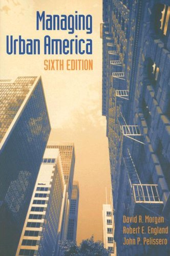 Managing Urban America  6th 2006 (Revised) edition cover