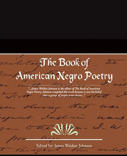 Book of American Negro Poetry  N/A edition cover
