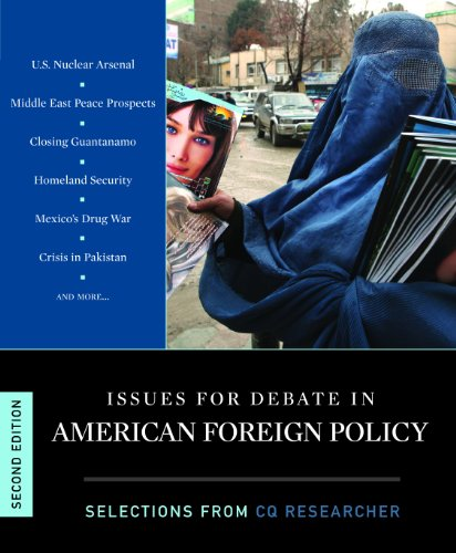 Issues for Debate in American Foreign Policy  2nd 2012 (Revised) edition cover