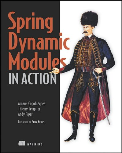 Spring Dynamic Modules in Action   2010 9781935182306 Front Cover