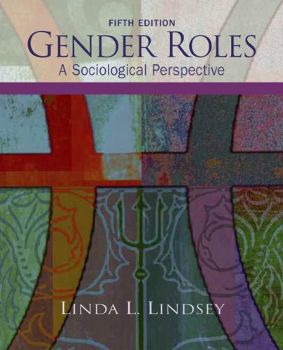 Gender Roles A Sociological Perspective 5th 2011 edition cover