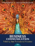 Business Communication: Polishing Your Professional Presence 3rd 2015 edition cover