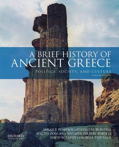 Brief History of Ancient Greece Politics, Society, and Culture 4th 2020 9780190925307 Front Cover