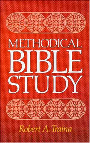 Methodical Bible Study N/A 9780310312307 Front Cover