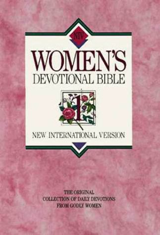 Women's Devotional Bible   1990 (Deluxe) 9780310916307 Front Cover
