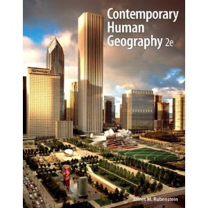 Contemporary Human Geography, Books a la Carte Edition  2nd 2013 edition cover