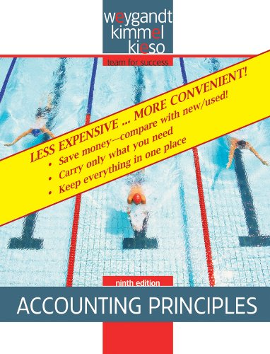 Accounting Principles, 9th Edition Binder Ready Version N/A 9780470418307 Front Cover