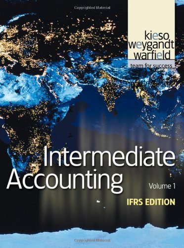 Intermediate Accounting  11th 2011 edition cover