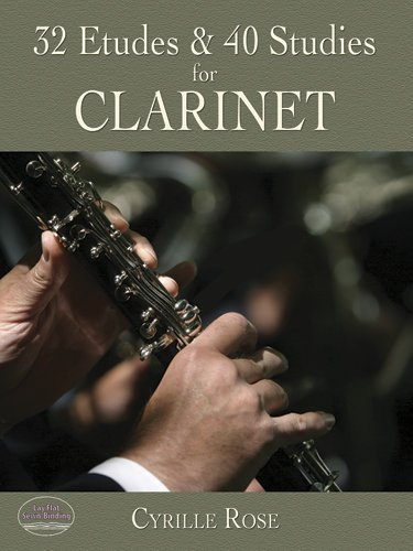 32 Etudes and 40 Studies for Clarinet  N/A edition cover