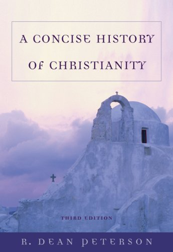 Concise History of Christianity  3rd 2007 (Revised) edition cover