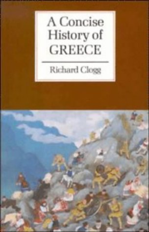 Concise History of Greece   1992 edition cover