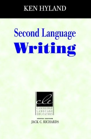 Second Language Writing   2003 edition cover