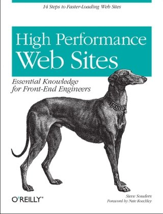 High Performance Web Sites Essential Knowledge for Front-End Engineers  2007 9780596529307 Front Cover
