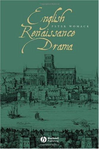 English Renaissance Drama   2006 edition cover