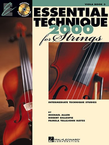 Essential Technique for Strings - Voila  N/A edition cover