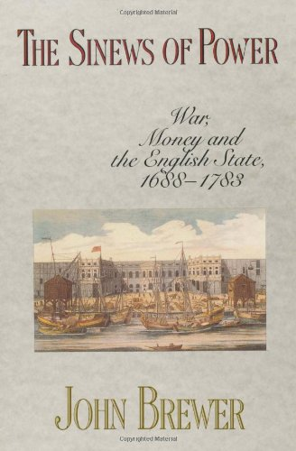 Sinews of Power War, Money and the English State, 1688-1783  1988 edition cover