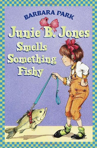 Junie B. Jones Smells Something Fishy   1998 edition cover