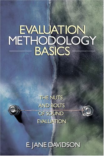 Evaluation Methodology Basics The Nuts and Bolts of Sound Evaluation  2005 edition cover