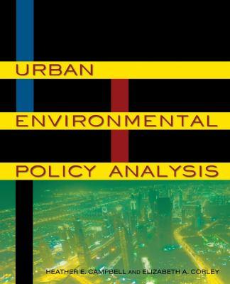 Urban Environmental Policy Analysis   2012 edition cover