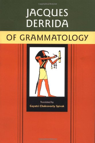 Of Grammatology   1997 (Revised) edition cover