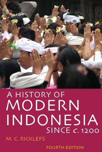 History of Modern Indonesia since C. 1200 Fourth Edition 4th 2008 edition cover